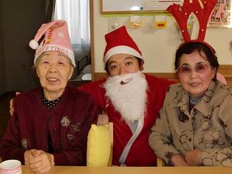 ケアセンター朱咲クリスマス会①.jpg