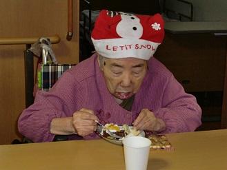 ケアセンター朱咲クリスマス会②.JPG