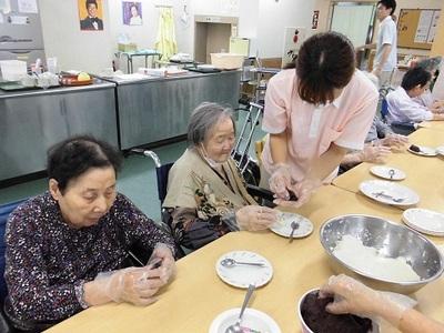 療養棟二階 9月イベント②.JPG
