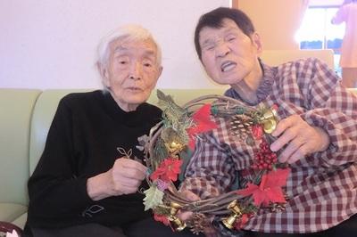 クリスマスリース閑野きみい様小池美代子様.JPG